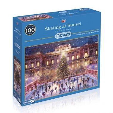 [LICHT BESCHADIGD] Skating at Sunset - Puzzel (1000)