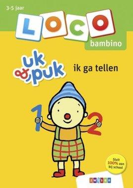 Loco Bambino Boekje - Uk & Puk: Ik ga tellen