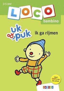 Loco Bambino Boekje - Uk & Puk: Ik ga rijmen