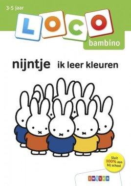 Loco Bambino Boekje - Nijntje: Ik leer kleuren