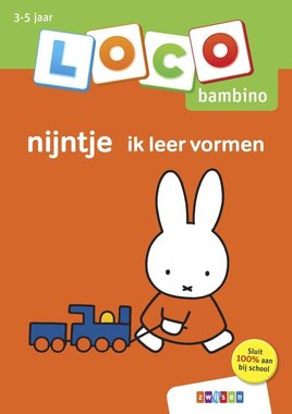 Loco Bambino Boekje - Nijntje: Ik leer vormen