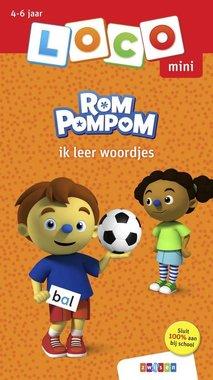 Loco Mini Boekje - Rompompom: Ik leer woordjes