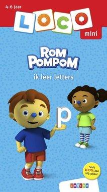 Loco Mini Boekje - Rompompom: Ik leer letters