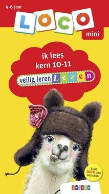 Loco Mini Boekje - Veilig Leren Lezen: Kern 10-11