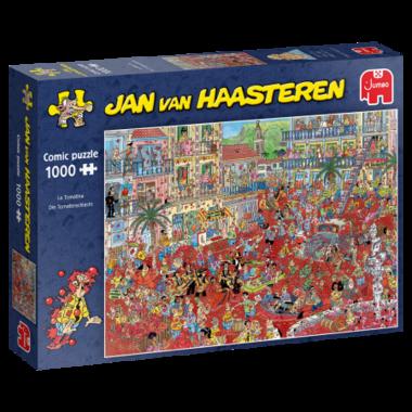 La Tomatina - Jan van Haasteren Puzzel (1000)