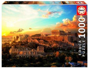 Acropolis Athene - Puzzel (1000)