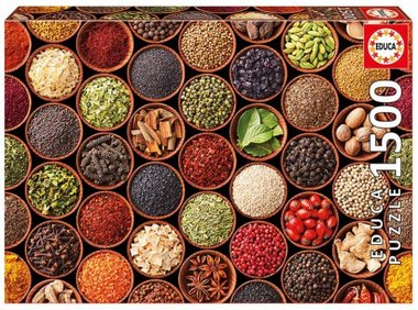 Herbs and spices - Puzzel (1500)