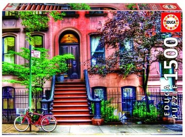 Greenwich Village, New York - Puzzel (1500)