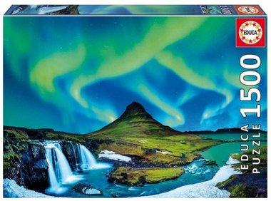 Aurora Borealis, Island - Puzzel (1500)