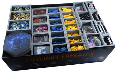 Twilight Imperium - Prophecy of Kings: Insert (Folded Space)