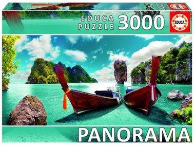 Phuket, Thailand - Panorama Puzzel (3000)