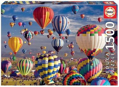 Hot Air Balloons - Puzzel (1500)