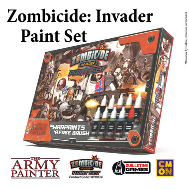 Zombicide Invader Paint Set (The Army Painter)