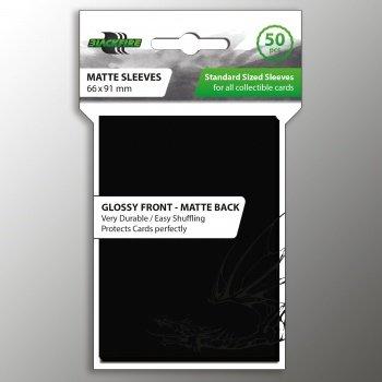 Blackfire Sleeves: Matte Sleeves (66x91mm) - 50 stuks