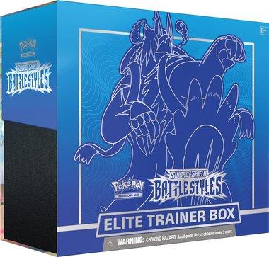 Pokémon: Sword & Shield - Battle Styles Elite Trainer Box (Blue)