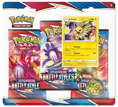 Pokémon: Sword & Shield - Battle Styles (3 Booster Blister - Jolteon)