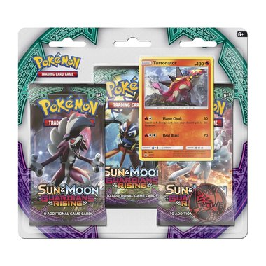 Pokémon: Guardians Rising - 3 Booster Blister (Turtonator)