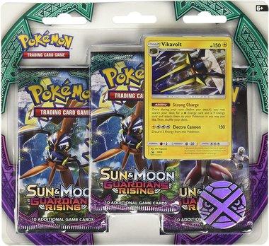 Pokémon: Guardians Rising - 3 Booster Blister (Vikavolt)
