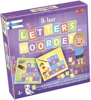 Ik leer letters en woorden