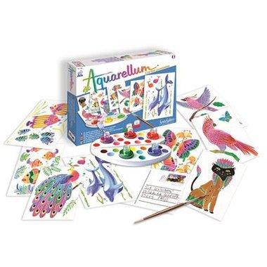 Aquarellum Junior: Postkaarten Dieren