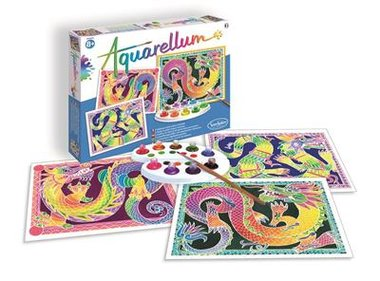 Aquarellum XL: Dragons
