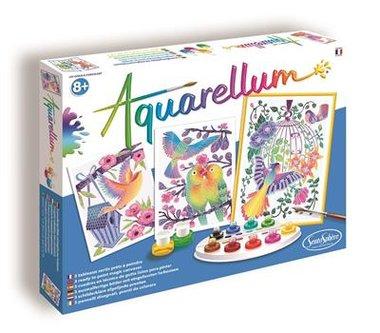 Aquarellum: Vogels