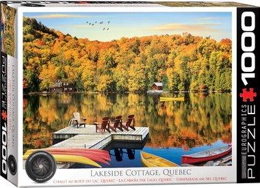 Lakeside Cottage, Quebec - Puzzel (1000)