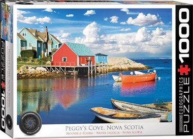 Peggy's Cove, Nova Scotia- Puzzel (1000)