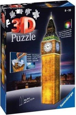 Big Ben night edition - 3D Puzzel (226)