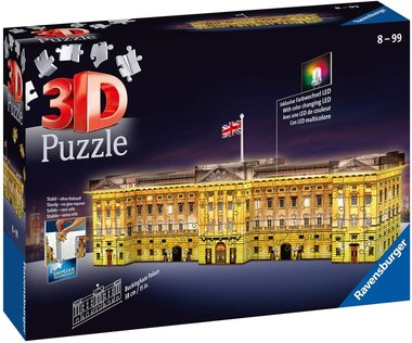 Buckingham Palace night edition - 3D Puzzel (237)