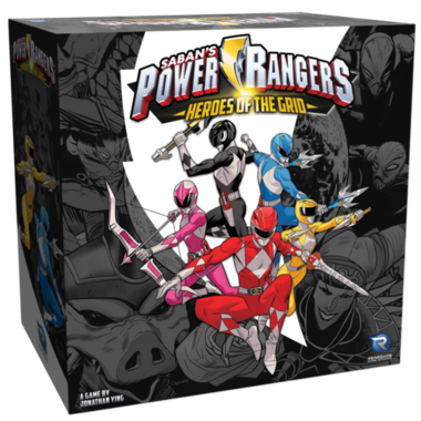 [GEMIDDELD BESCHADIGD] Power Rangers: Heroes of the Grid