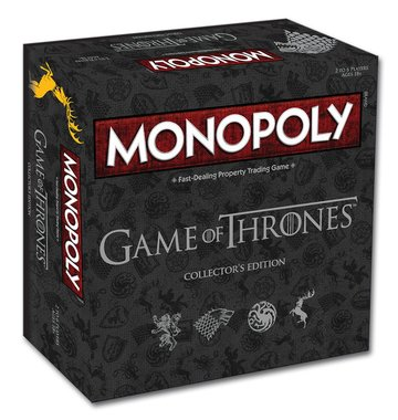 Monopoly: Game of Thrones [COLLECTOR'S EDITION]
