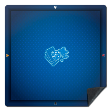 Playmat: Universal Blue (60x60cm)