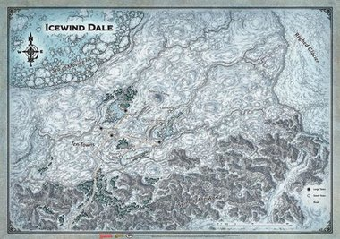 Dungeons & Dragons: Icewind Dale (Map)