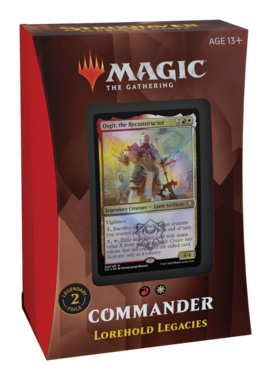 MTG: Strixhaven School of Mages Commander Deck (Lorehold Legacies)