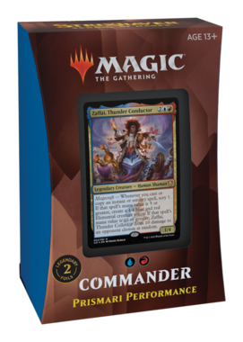 MTG: Strixhaven School of Mages Commander Deck (Prismari Performance)
