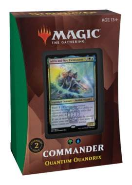 MTG: Strixhaven School of Mages Commander Deck (Quantum Quandrix)