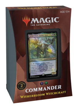 MTG: Strixhaven School of Mages Commander Deck (Witherbloom Witchcraft)