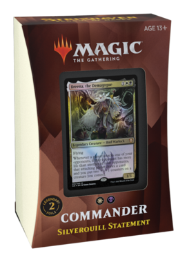 MTG: Strixhaven School of Mages Commander Deck (Silverquill Statement)