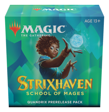 MTG: Strixhaven School of Mages Quandrix Prerelease Pack