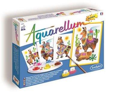 Aquarellum Junior: Lamas
