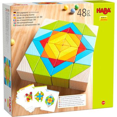 Blokkenmozaïek (3D Compositiespel)
