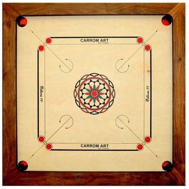 Carrom: WCT Champion (77 x 77 cm)