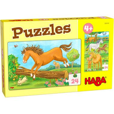 Puzzels: Paarden (4+)