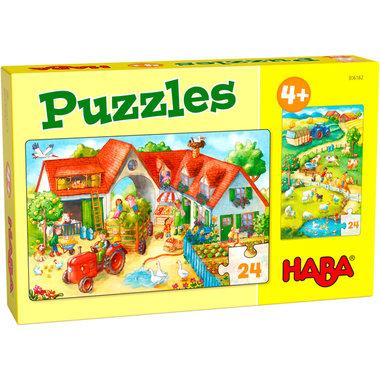 Puzzels: Boerderij (4+)
