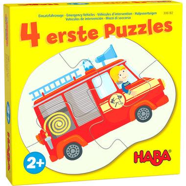 4 Eerste Puzzels: Hulpvoertuigen (2+)