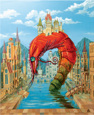 Rode Garnaal - Puzzel (165)