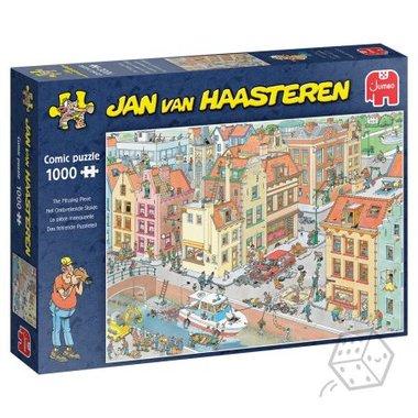 Het Ontbrekende Stukje - Jan van Haasteren Puzzel (1000)