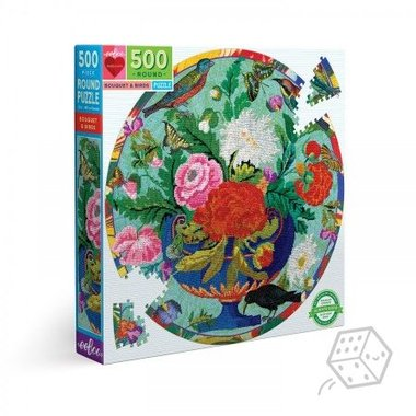 Bouquet & Birds - Puzzel (500)