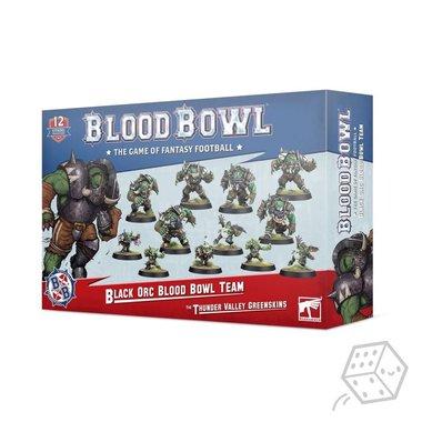 Blood Bowl: Black Orc Blood Bowl Team (The Thunder Valley Greenskins)